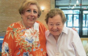 Temple Emanu-El Couples Club President Carole Cohen (left) and Founding President Nelda Golden | Photo: Submitted by Buddy Gilbert