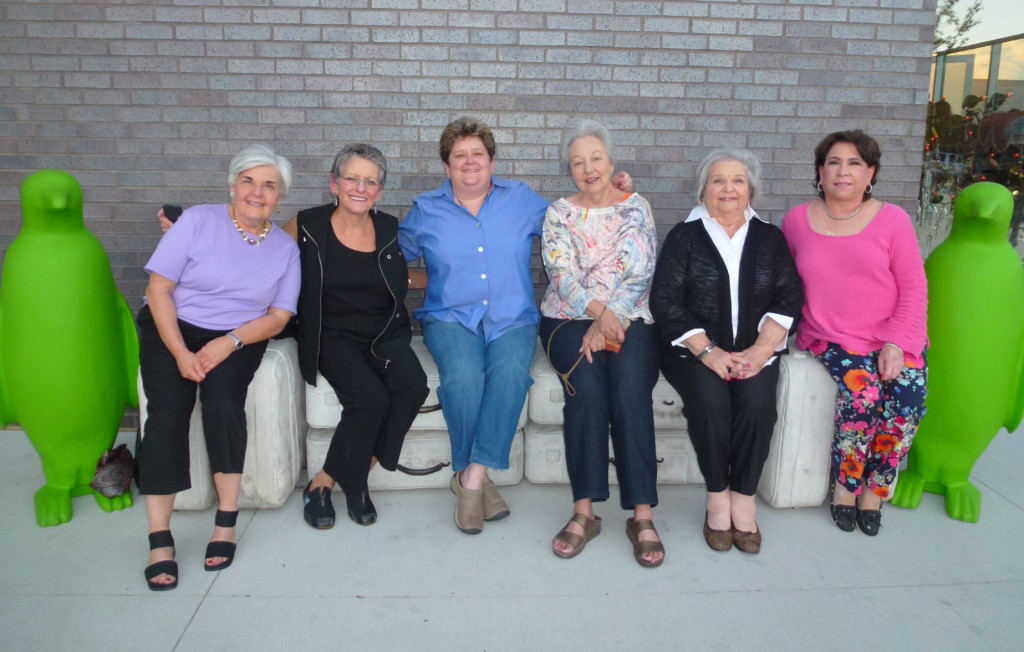 Enjoying Bentonville, Ark. are, from left, Gail Granek, Anita Dellal, Carole Rogers, Pat Davis, Mary Frances Antweil and Julie Silverman. | Photo: Courtesy of Carole Rogers