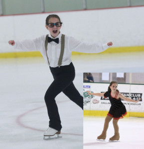 Lindsay Kaplan skates at the ISI World Recreational Team Championships in Massachusetts.