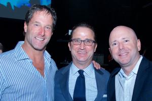 Steve Lieberman (left), Alan Shor and Scott Cohen