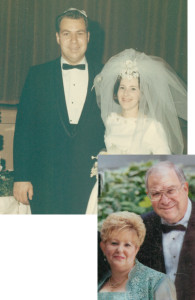 Susan and Allen Luterman on their wedding day ... and 50 golden years later | Photo: Luterman Family