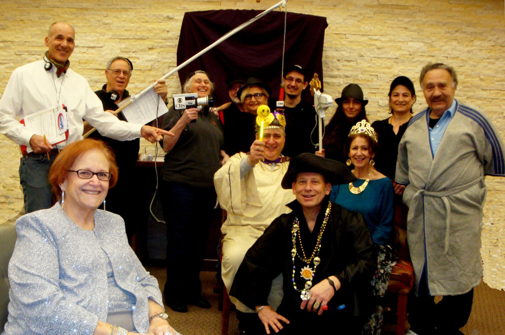 The cast of the annual Beth Shalom Purim Shpiel at dress rehearsal March 1 | Photo: Randy San Antonio