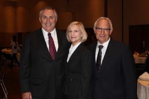 From left, Marc Stanley, Andrea Statman and Jordan Tannenbaum