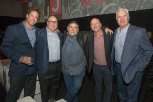 J's be. Event: Steve Lieberman, Todd Aaron, Dan Prescott, Scott Cohen, Bennett Glazer