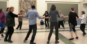 Submitted photo The dance group meets from 7-8 p.m. every Wednesday at Beth El.