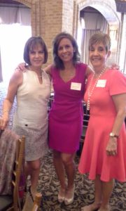 (From left) Caren Edelstein, Amy Schachter and Joyce Rosenfield
