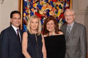 (From left) Kenny Goldberg, Sherry Goldberg, Marilyn Schaffer and Donald Schaffer