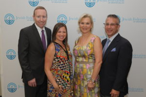 JFGD Annual Meeting Co-Chairs Rob and Kim Velevis and Lisa and David Genecov