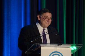 JFGD Board Chair Dan Prescott discussed Israel during his speech.