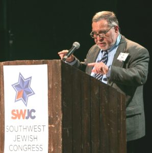 Photo: Southwest Jewish Congress Gil Elan will continue to write his biweekly column for the Texas Jewish Post, as well as his weekly briefing for Southwest Jewish Congress members.