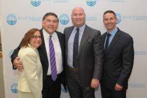 Senior Vice President and Chief Development Officer Mariam Shpeen Feist, Board Chair Dan Prescott, President and CEO Bradley Laye and Chief of Staff Gary Wolff