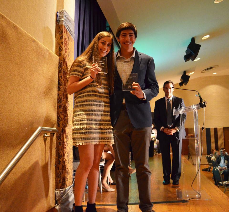 Hank Bodner winners Amanda Steinborn and Jordan Sternblitz