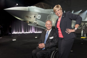 Lockheed Martin Aeronautics Photo by Angel DelCueto      Job Reference Number: FP161141 Durham   WMJ Reference Number: 16-04470      Customer: Charlotte Durham     Event: F-35 Israeli Rollout Ceremony      Location: AFF2      Date: 06-22-2016     Time: 0800