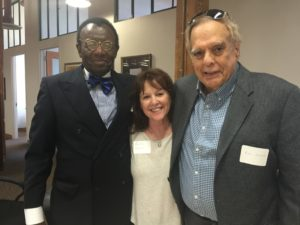 From left, Joe Green-Bishop, Anita Warner and Ken Glaser have been instrumental in getting the new organization BLEWS off the ground. BLEWS is dedicated to the advancement of the relationship between the Black American and Jewish communities through dialogue.
