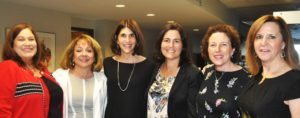 Photo: Deb Silverthorn (From left) Sharon Wisch-Ray, Linda Glauben, Carol Kreditor, Mandy Ginsberg, Pam Fine, and Laurie Betesh, incredible representatives of Dallas' successful women in the work force, are committee leaders and speakers at the debut of the return of the Jewish Women's Philanthropy Center's Career & Professional Affinity of the Jewish Federation of Greater Dallas.