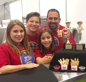 Photo: Isaac Rousso The Rousso family (left to right) — Lily, Joey, Sara, and Isaac — are excited prior to Tuesday's opening of their first restaurant, State Fair Treats, and what it means to their future. Starting out at the State Fair of Texas, Rousso once said he wanted to have something for his children to hold on to: a business and a tradition. Isaac Rousso's cookie fries, which won the 2016 Big Tex Choice Award for Most Creative, will debut in the restaurant on October 24 — after State Fair attendees get the first bite.