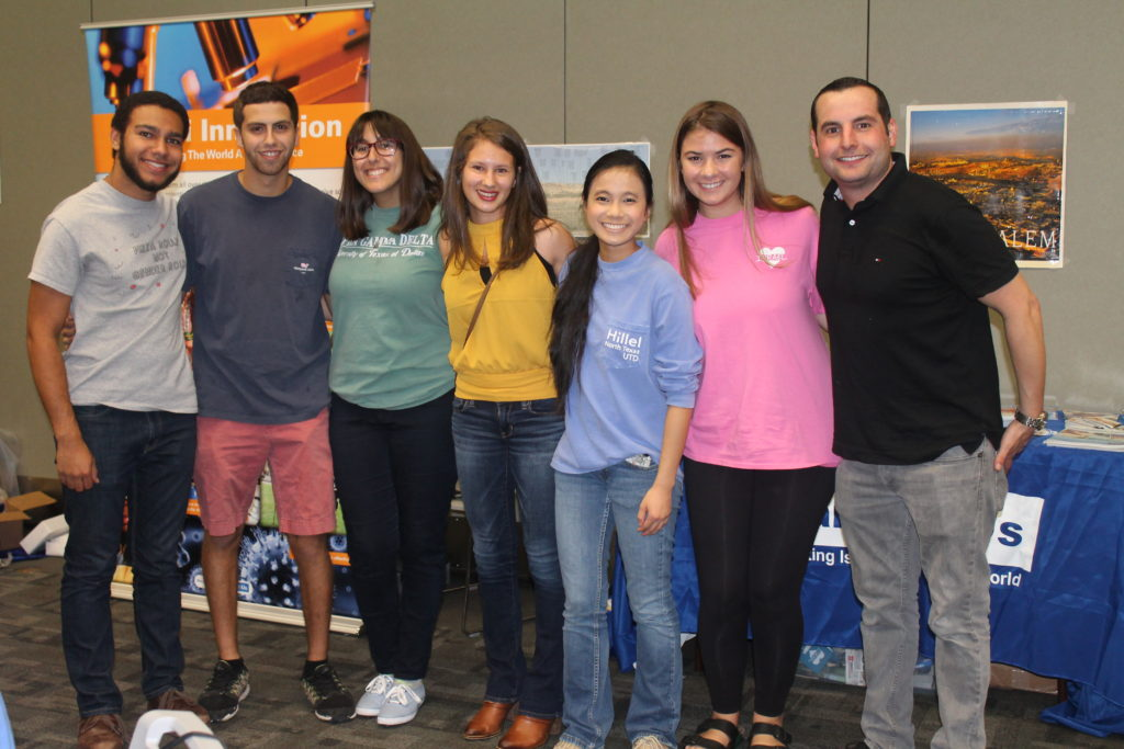 (From left) Fred Traylor, Evan Cantor, Hannah Ghotbi, Melissa Kovach, Ilana Stovall, Lara Koppel and Jesse Stock