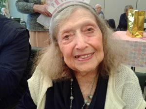 Centenarian Libby Goldberg