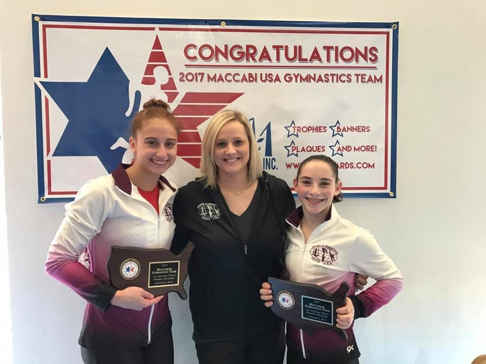 Submitted photo Sarah Weisberg (left) and Kaya Haymann (right) will compete for Team USA in the Maccabiah Games in 2017.