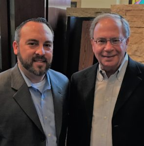 "Warren Harmel (right) and Barrett Stern are the leadership behind the Feb. 10 and 11 Arnie Sweet Scholar-in-Residence program. The two, and their committee, bring the spirit of the Jews as the People of the Book to Plano this year hosting Dr. Deborah Lipstadt. ""We're privileged to have Dr. Lipstadt, whom we contacted nearly two years ago when the film based on her incredible story was just an inkling,"" said Harmel. ""Denial has now become a huge hit and we're thrilled to bring the real hero to Dallas."""