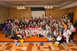Delegates from last year's North Texas region traveled to Baltimore to participate in the last international convention.