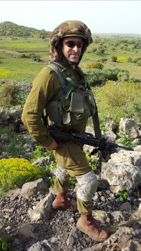 "Photo: Ari Fuld Standing Together Assistant Director Ari Fuld says, ""This is not about providing a 'favor' to the soldiers, but these are all of our sons and daughters."" Fuld, a reservist who is an elite paratrooper, will be in Dallas this weekend."