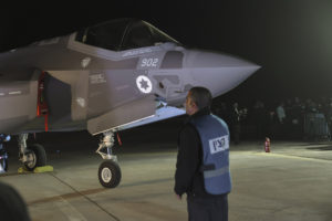 One of two F-35 fighter jets in Israeli service Submitted photo