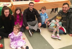 On March 12, Beth-El Congregation hosted Hamantaschen with Dads. Dads enjoyed celebrating Purim with their kids at the festive event.