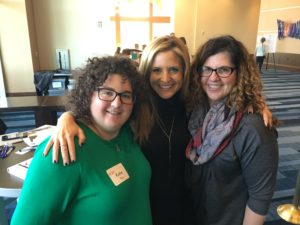 Katie Ray, Speaker Glennon Doyle Melton and Alyson Ray