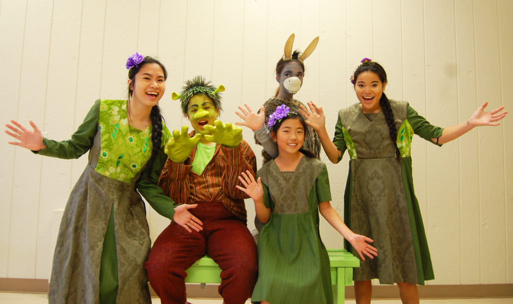 Photo: Ashley Bundis Shrek The Musical Jr. will be performed at the Dallas Jewish Community Center March 23 through April 2.