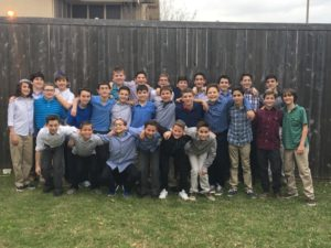 Submitted photo The Chai Force basketball team held the first-ever Chai Force Shabbaton this past weekend.