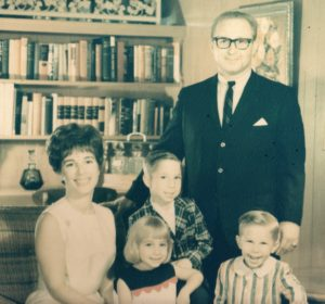 The Genecov family, which settled in Dallas in 1960, has made its mark. (Left to right) Sally, Julie, Jeff, Ed and David Genecov.