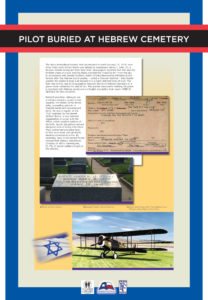 2. WWI Panwl.Pilot Buried AhSh Cemetery