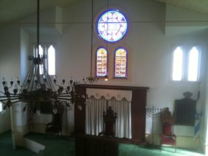 he city restored three stained-glass windows seven years ago.