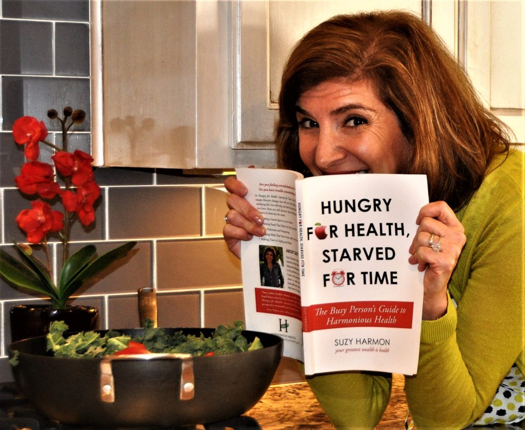 Suzy Harmon has written Hungry for Health, Starved for Time, providing the busy person's guide to harmonious health. Photo: Deb Silverthorn