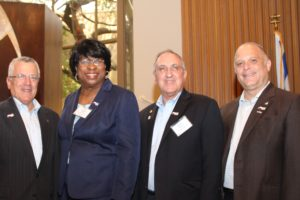 Keynote Speakers Technion Vice President Boaz Golany, Detroit's Russell St. Missionary Baptist Church Reverend Dr. Deedee M. Coleman, pro-Israel activist and Dallas attorney Charles Pulman and Temple Shalom Rabbi Andrew Paley
