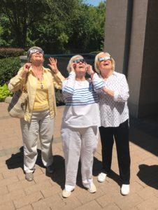 Suzanne Mayo, Gilda Hesdorffer and Stephanie Jones