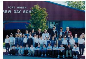 The Fort Worth Hebrew Day School student body of 1998-99