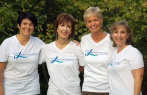 Jill Bach, the late Helen Gardner, Lynn Lentscher, and Julie Shrell, founders of the Be The Difference Foundation, have shared the $2 million mark of money donated for research toward a cure for ovarian cancer. Their 2018 Wheel to Survive will take place on Feb. 18, 9 a.m.-3 p.m. at the Aaron Family JCC in Dallas.