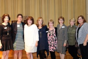 (From left) Ann Weintraub, Cathy Barker, Mary O'Conner, Stacey Segal, Jill Cumnock and Lisa Brodsky