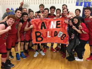 Submitted photo The Yavneh boys' basketball team swept the Weiner tournament for the second straight year.