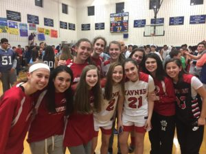 The Yavneh girls' basketball team took third place at the Weiner tournament.
