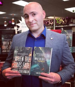 Adam Korenman has recently released his new novel When the Skies Fall, the second book in the Gray Wars Saga.