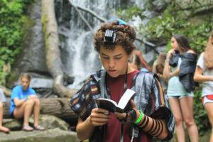 Ethan Fine at Camp Ramah Darom
