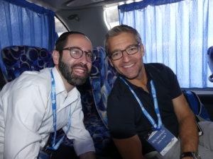 Rabbi Shlomo Abrams and Trip Madrich Billy Warshauer
