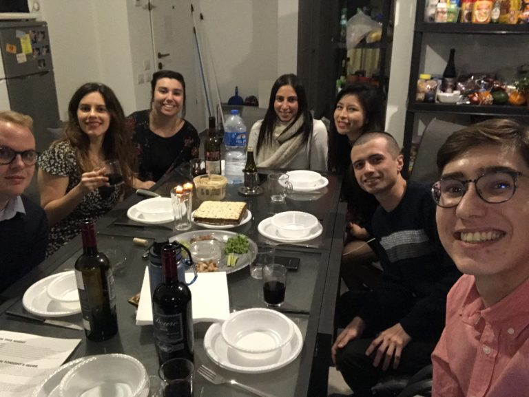 Tastebuds of Tradition – Ethan Fisher's Israel Seder