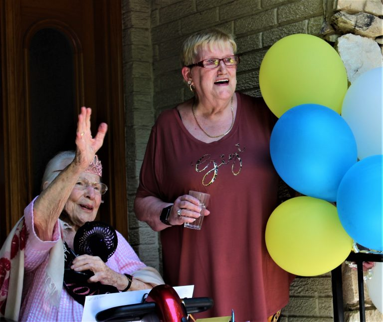 To 120 and beyond: Happy 100, Ethel Gruen