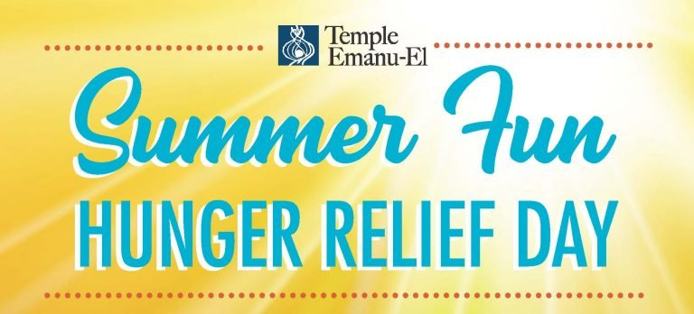 Temple Emanu-El Hunger Relief: Drive-by Food Drive