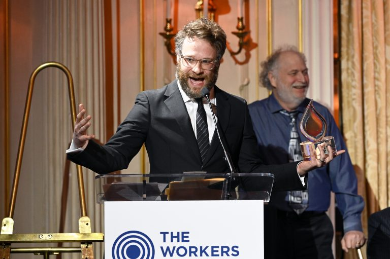 Seth Rogen promotes 'most Jewish movie ever' while making hateful comments about Israel and Judaism