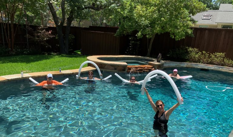 Debbie Koeppel: swimming for a cause